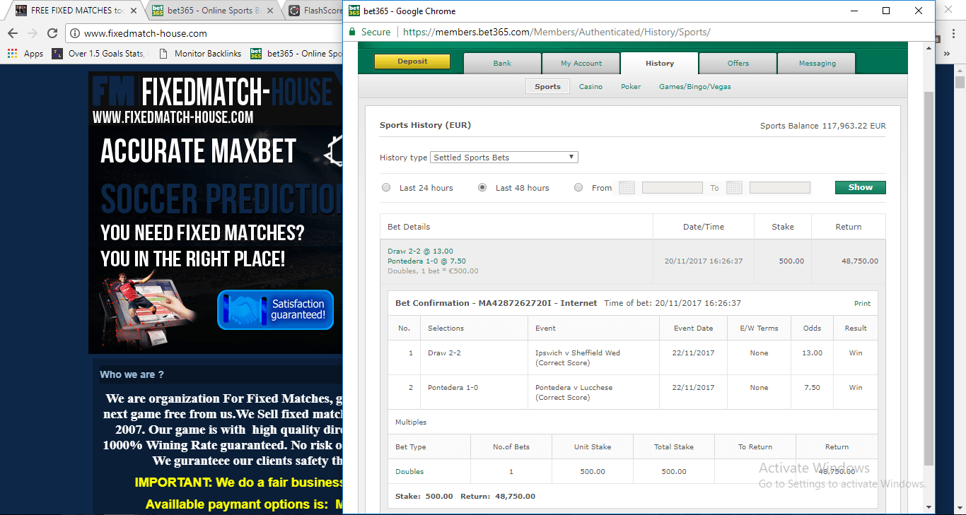 Photos from betslip fixed matches